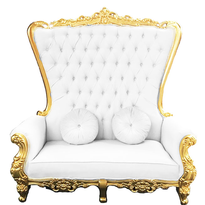 Double Royal Throne Chair Party Rental Super Store
