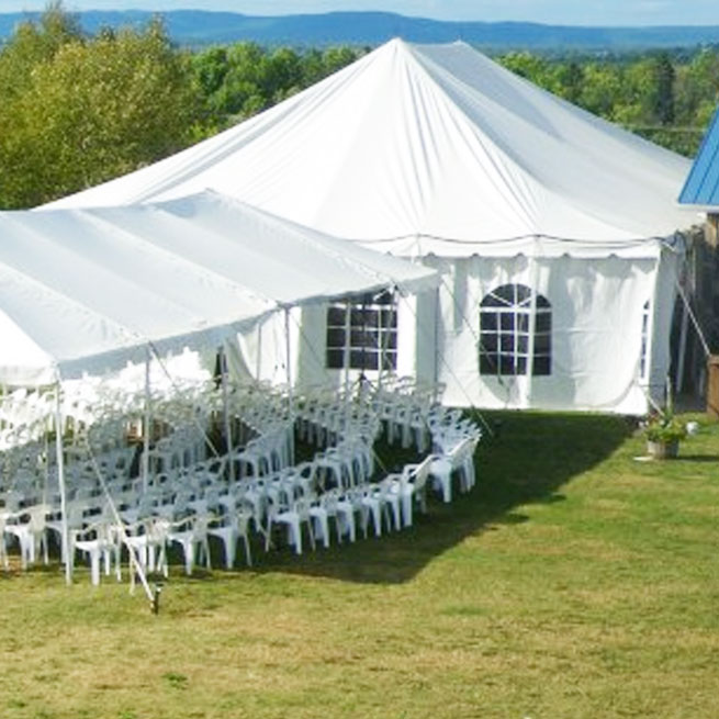 TENTS TO START A PARTY RENTAL BUSINESS